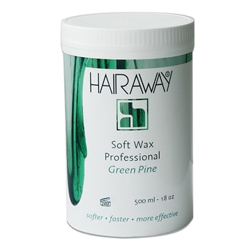 Hairaway soft wax green pine 500ml